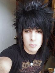 cool emo guys hairstyle