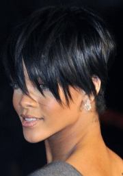 short layered funky hairstyle