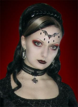 Gothic Hairstyles Page 3