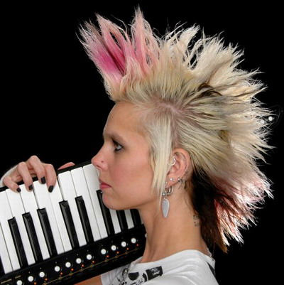 Spiky Punk Hairstyle