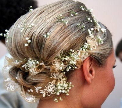 bridal quinceanera hairstyle