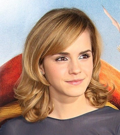 Emma Watson Shoulder Length Hairstyle