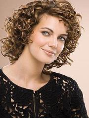 lovely spiral perm hairstyle