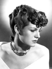 1940s stylish hairstyle