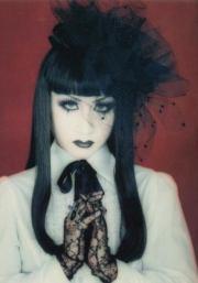 elegant gothic hairstyle