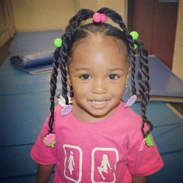 Twenty Five Styles Black Little Lady Hairstyles With Barrettes