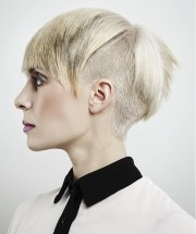 short flipped hairstyles