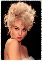 awesome 1960s curly hairstyle