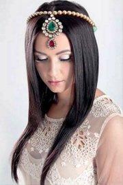 fabulous emo wedding hairstyle
