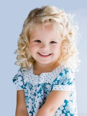 stylish curly hairstyle kids