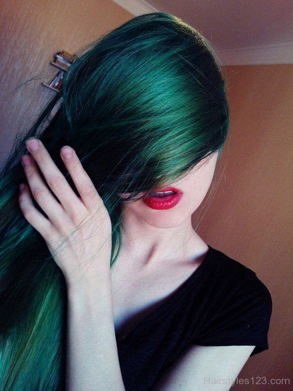 Green Hairstyles  Page 9