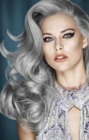 grey hairstyles