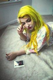 yellow hairstyles