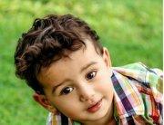 curly hair baby boy