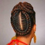 halo goddess braids