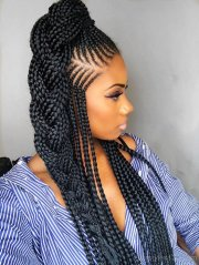 micro braid hairstyles