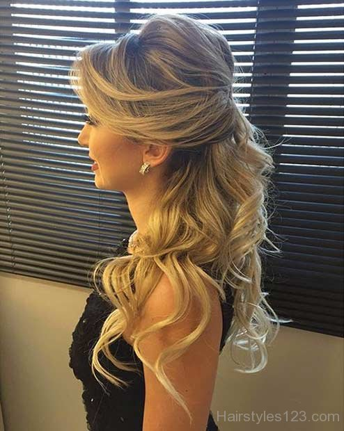 Half Up Half Down Hairstyles  Page 2