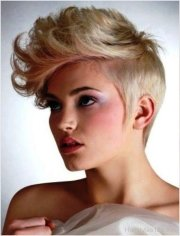 short flipped hairstyles - page