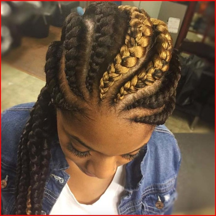 Goddess Braids Hairstyles Natural Hair Braided Hairstyles