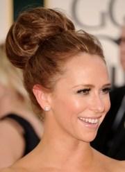 cute bun hairstyles elegant
