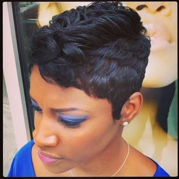 Cute Short African American Hairstyles 2016 Easy Casual