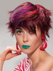 cute hair color ideas short
