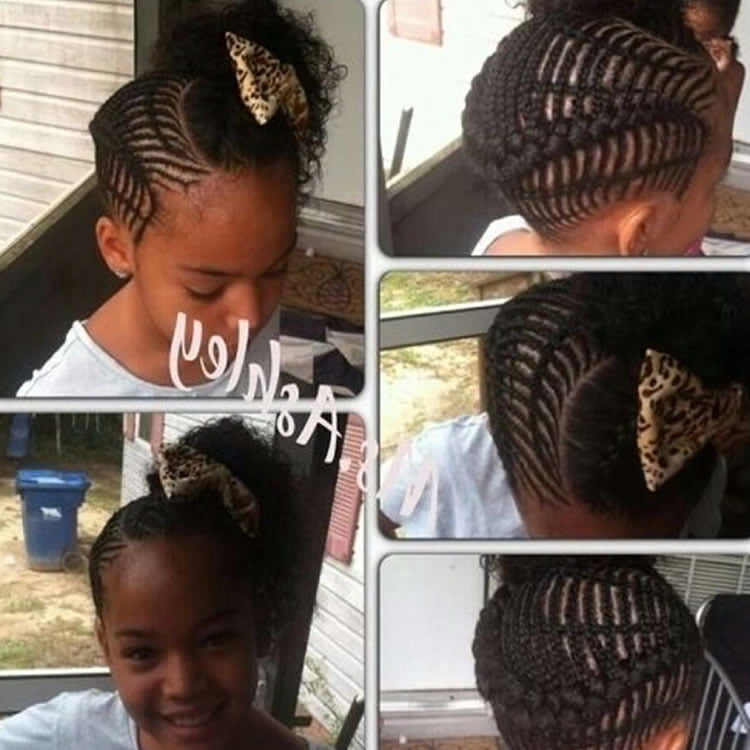 64 Cool Braided Hairstyles For Little Black Girls Page 6