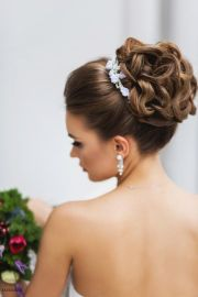 cute bun hairstyles elegant