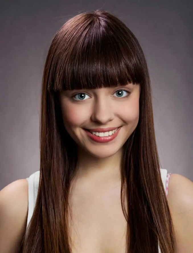 Image Result For Hairstyles With Fringes For Medium Length Hair