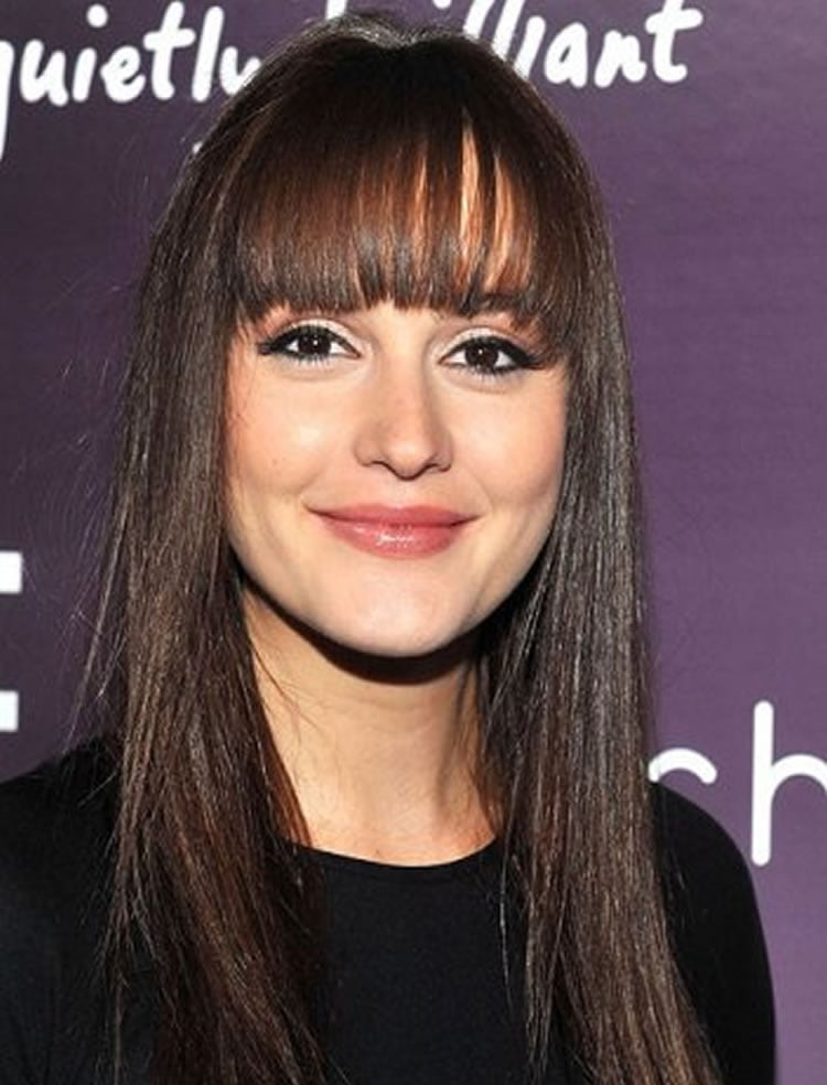 100 Cute Inspiration Hairstyles with Bangs for Long Round Square Faces  Page 5  HAIRSTYLES