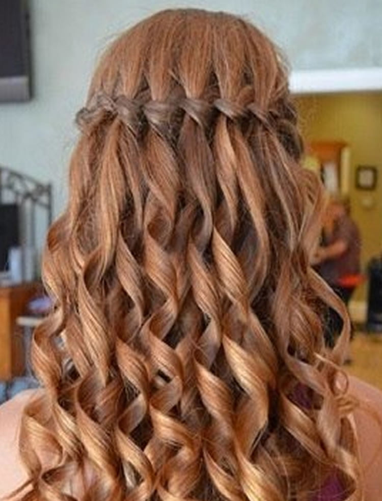 Lovely Waterfall Plait Step By Step HAIRSTYLES
