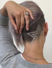 undercut hairstyle ideas with shapes