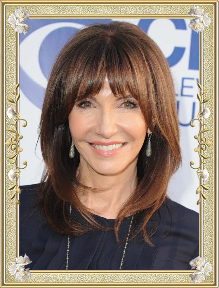 55 Glamorous Long Hairstyles for Women Over 50  Page 5
