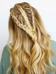 side braid hairstyles long