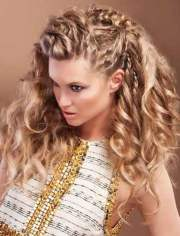 wavy hairstyles short medium