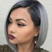 ombre short hair with 100
