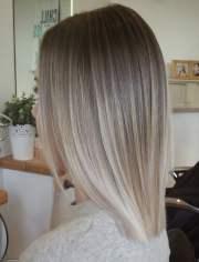pretty blonde ombre straight