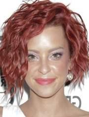 wavy hairstyles short medium