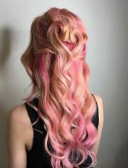 colorful hairstyles tutorials