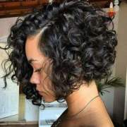 cute curly bob hairstyles african
