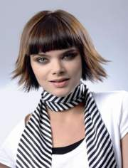 long-short bob haircuts
