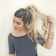 attractive ponytail