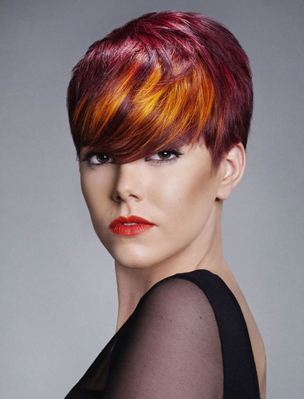 Red Hair Color for Short Hairstyles  27 Cool Haircut Tutorial for 20172018  Page 4  HAIRSTYLES
