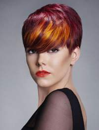 Red Hair Color for Short Hairstyles | 27 Cool Haircut ...