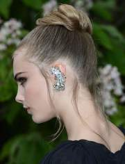 2018 updo bun hairstyles women