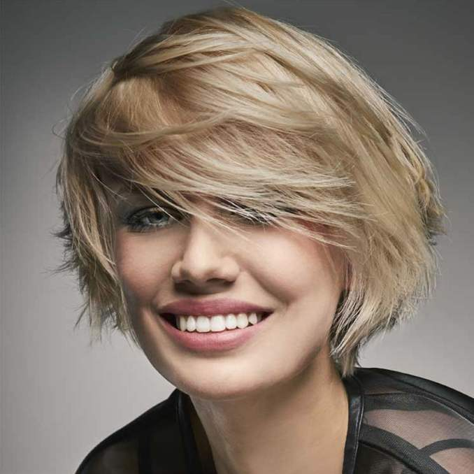 Image Result For Short Female Haircuts For Round Faces