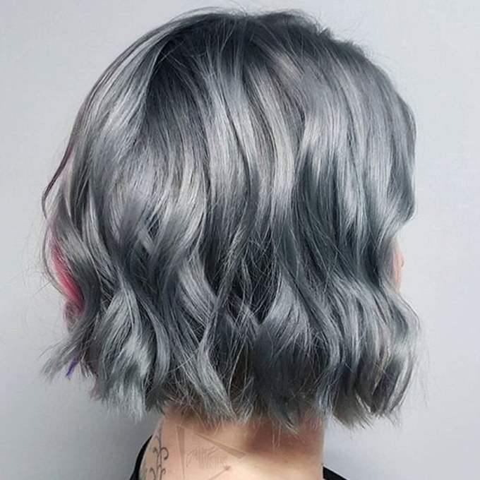 grey hair trend – 20 glamorous hairstyles for women 2018 – page 4