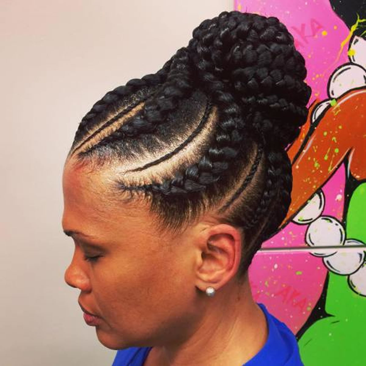 20 Best African American Braided Hairstyles for Women 2017