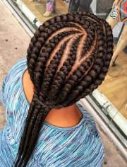 african american braided