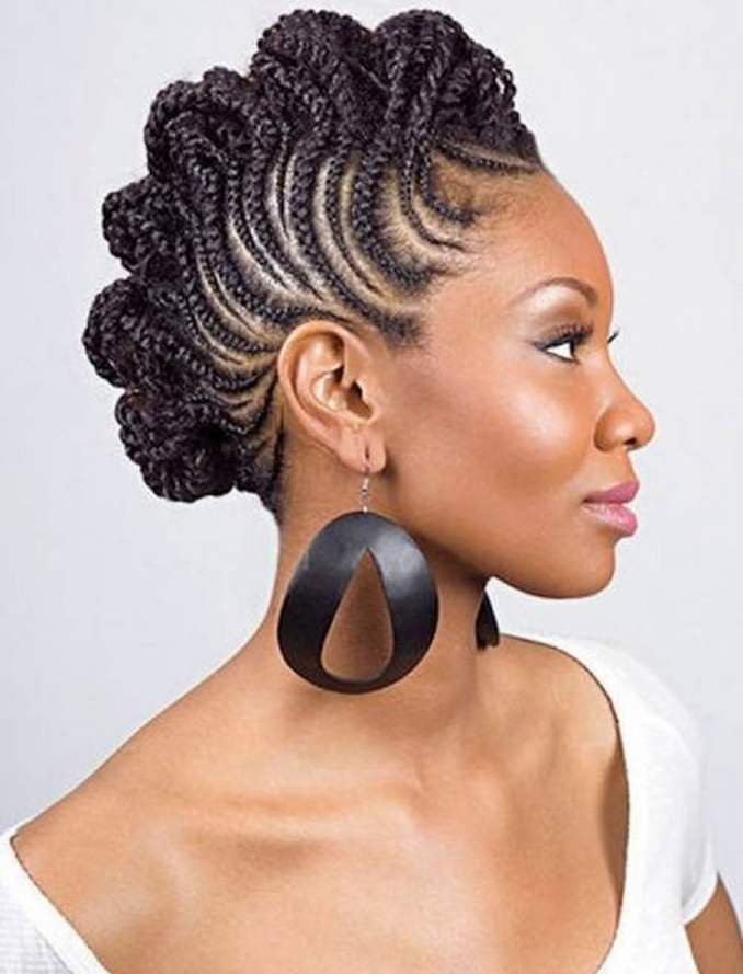 Image Result For Black Short Ided Hairstyles